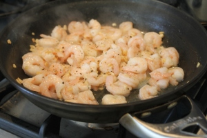 Mondavi Garlic Shrimp